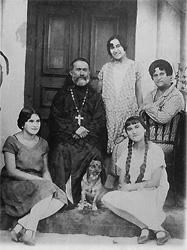 свщмч.Елеазар с женой и дочерьми
