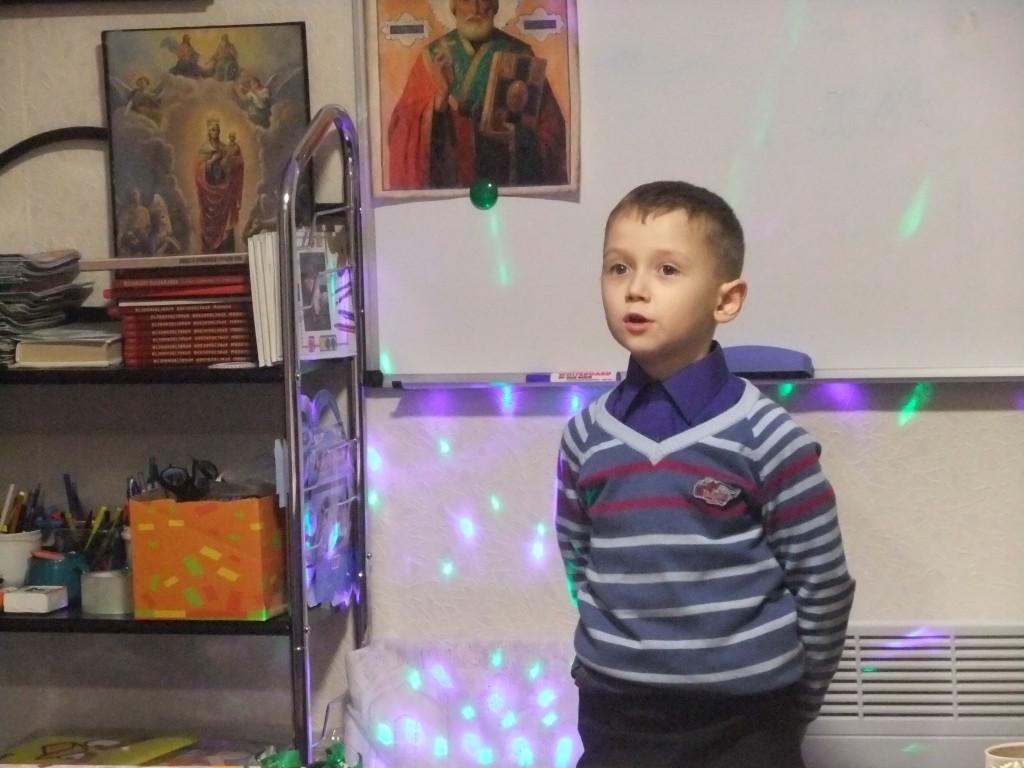 Представление мальчика на конкурсе в стихах